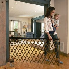 diy  extra wide gate gate baby gates  playrooms