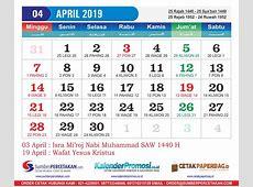 Kalender April 2019 Cetak Kalender 2019 harga Murah