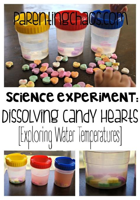 melting hearts dissolving conversation hearts science