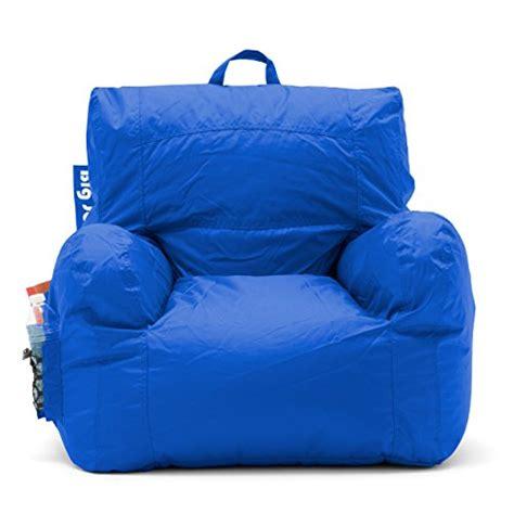 big joe bean bag chair sapphire for 39 87