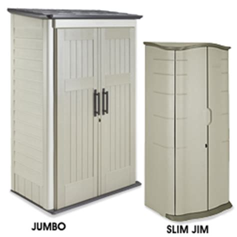 Rubbermaid Slim Jim Storage Shed by Rubbermaid Storage Shed In Stock Uline