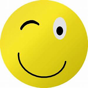 Clipart - Wink Smiley