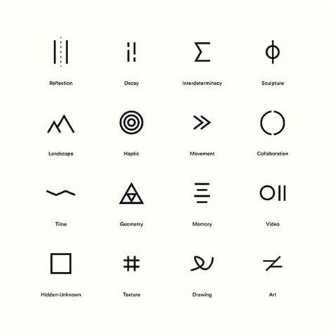 pin  glyphs