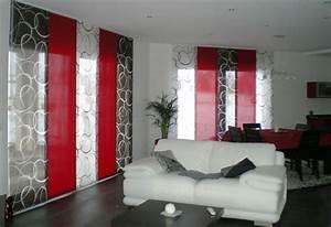 Rideau Rouge Et Noir : d co salon rideau rouge ~ Melissatoandfro.com Idées de Décoration