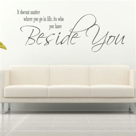 quote wall stickers  grasscloth wallpaper