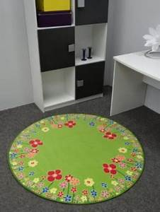 Teppich Rund 200 : top 30 kinderteppich blumen www kinder ~ Markanthonyermac.com Haus und Dekorationen