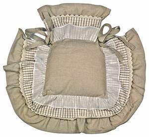 Galette de chaise à volants Campagne Coussin de Chaise par Interior's