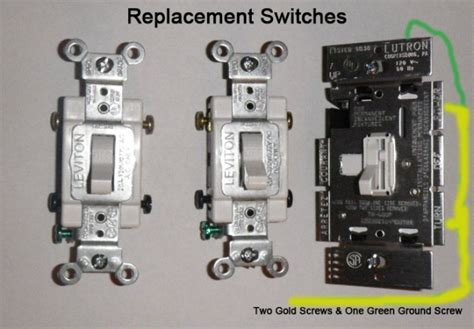 Replacing Single Pole Light Switches With Double