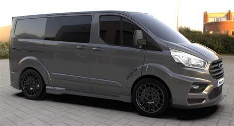 Ms-rt Ford Transit Custom Gets The Job Done In Style