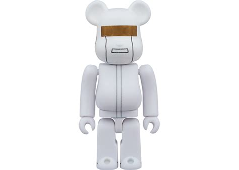 Bearbrick Daft Punk (White Suits Ver.) 2 Pack 100% White ...