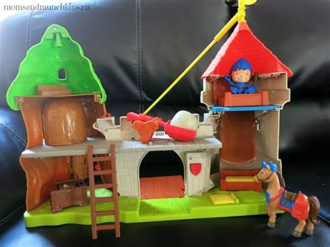 learning through play castle children playset knight mike treasures hidden son