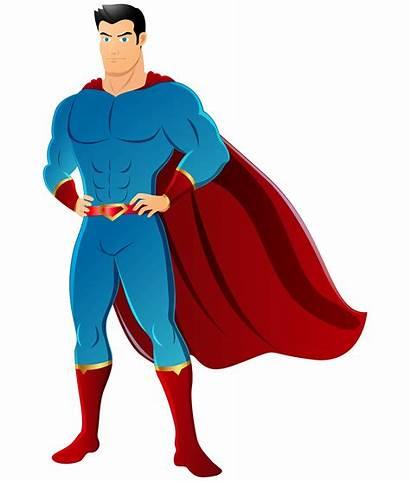 Superhero Clipart Clip Superman Transparent Background Super