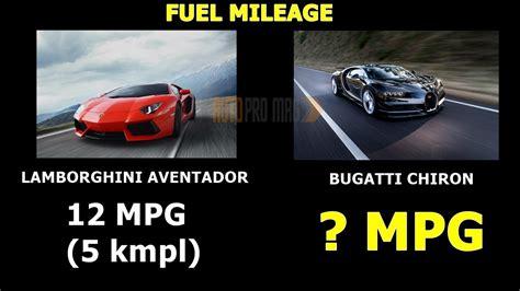 Bugatti Chiron's Mileage Isn't As Bad As You Think