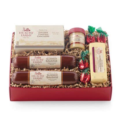 costco hickory farms gift pack hickory farms meats cheeses gift set walmart