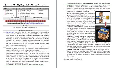 2nd grade lesson plans structured learning