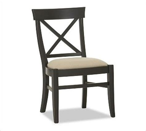 aaron upholstered side chair black traditional dining