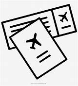 Coloring Ticket Plane Airplane Airlines Banned Symbol United Transparent sketch template