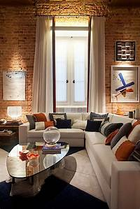 modern interior designer Modern Interior Design of Apartment in Warm Shades