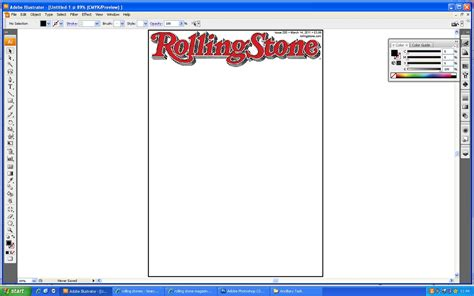 Rolling Magazine Cover Template by 7247 Katharine Haycock February 2011