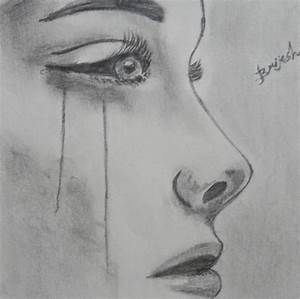 Sad Girl Crying Drawing Pictures: Drawing Of A Girl Crying ...