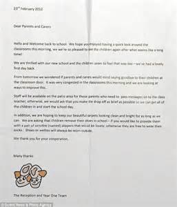 sample letter  child  sick  daycare sample