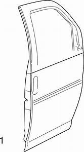 1996 Chevrolet Express 1500 Door Outer Panel  Front   1  2