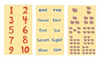 number flash cards printable 1 10 free preschool printables