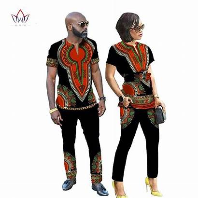 African Designs Couple Dresses Shirt Clothes Dashiki