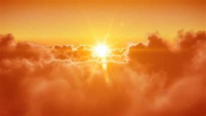 Sun Ray Rays Morning Sunshine Sky Wallpapers
