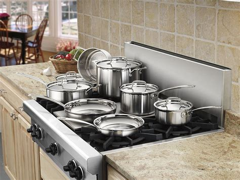 stainless steel cookware rated kitchen sets
