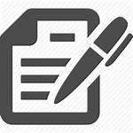 Icon Contract Signing Document Signature Writing Management