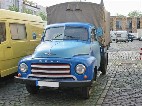 Opel Truck by Opel Blitz