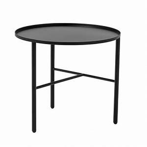 Table Basse 3 Pieds : bloomingville table basse metal noir 3 pieds pretty 87304910 ~ Teatrodelosmanantiales.com Idées de Décoration