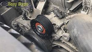 How To Change Idler Pulley On Mercedes E500