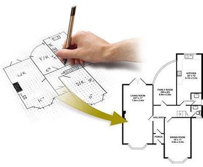 autodraw sketch and fax floor plan service