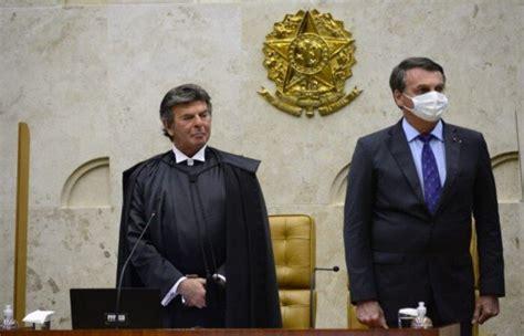 Bolsonaro se reúne com Fux no STF para discutir Copa ...