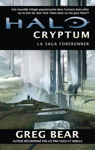 La Saga Forerunner (tome 1) Halo  Cryptum De Greg Bear