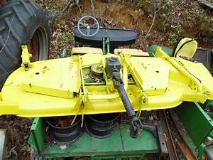 John Deere 855 Tractor With Front End Loader And Belly