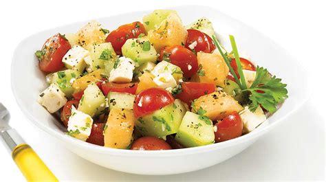 melon tomato  feta salad iga recipes