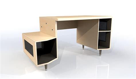 vikter gaming desk plans desk design and prototyping on behance