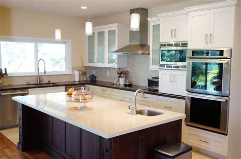 U Shaped Kitchen Layout Island Shape Hiddencharmsco Also L