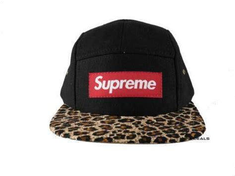 Buy Supreme Cap by Supreme Leopard Cap Hats Ebay