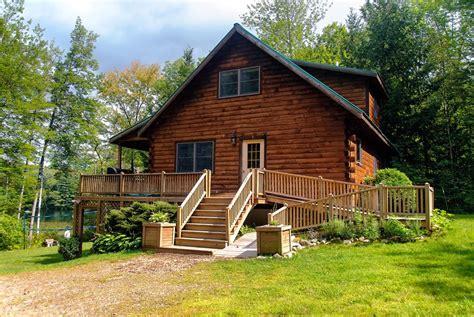 Maine Lakeside Log Cabin 3 Bed 2bath Cap 8 Hot Tub