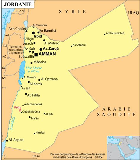 jordanie informations carte billet d 39 avion jordanie