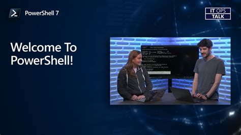 Welcome To PowerShell! | IT Ops Talk | Channel 9