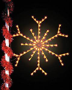 The Symbolic Snowflake Top Selling Pole Decoration