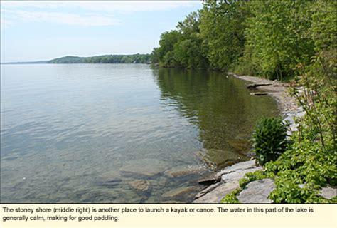 Seneca Lake Boat Launch by Finger Lakes New York State Parks Seneca County