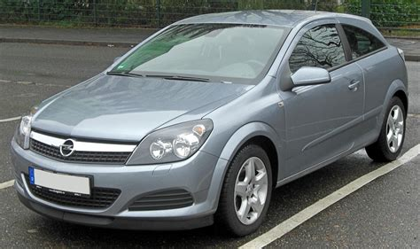 Opel Astra 2007 by File Opel Astra H Gtc Facelift Seit 2007 Front Mj Jpg