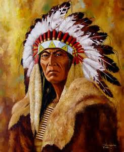 Roman Nose Indian Chief