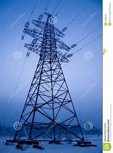 Transmission Line Electrical Power Line Tower Stock Photo Image 11648428